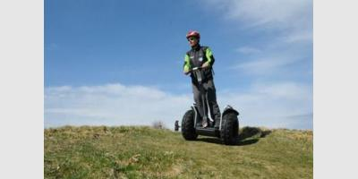 SEGWAY WITH THE MOUNTAIN LEADER PIERRE MENGIN