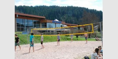TERRAIN DE BEACH VOLLEY A GERARDMER
